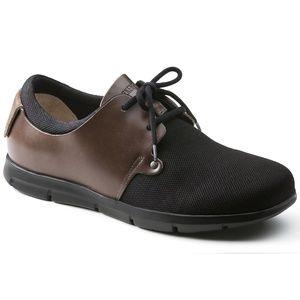 NIB BIRKENSTOCK WOMEN'S Barrie Textile Slip On Shoes in Navy